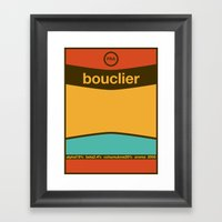 Bouclier Single Hop Framed Art Print