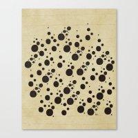 Ink Spots Canvas Print