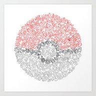 150 Pokemon Art Print