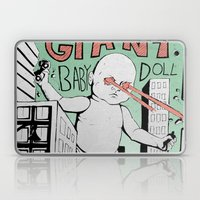 Attack Of The Giant Baby… Laptop & iPad Skin