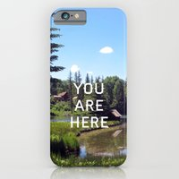 iPhone & iPod Case featuring You Are Here by Shutterbee Photography