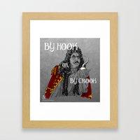 Hook or Crook Framed Art Print