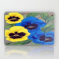 Pansies Laptop & iPad Skin