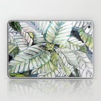 Poinsettia Watercolors Laptop & iPad Skin