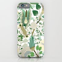 Green Flower Fantasy  iPhone 6 Slim Case