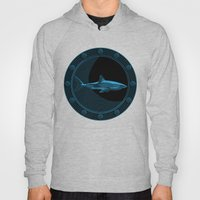 Engraved Shark Hoody