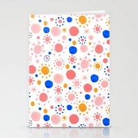 Dots Pattern Stationery Cards