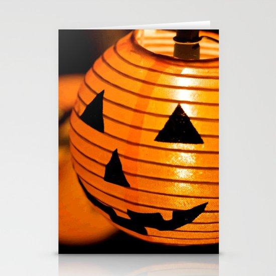Happy Halloween Stationery Card