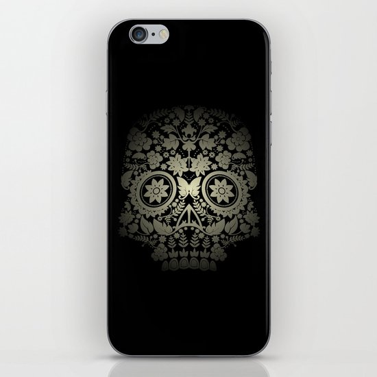 Day of the Dead Skull No.15 iPhone & iPod Skin