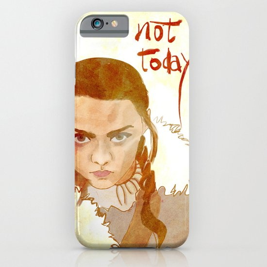 Not Today iPhone & iPod Case