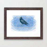 WordPlay 2: Ravenclaw Framed Art Print
