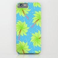 Pattern of Palm Tree-like Flowers iPhone 6 Slim Case