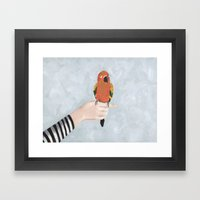 Hello, Flojo Framed Art Print