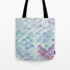 green scales Tote Bag