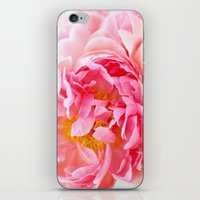 Peonies Forever II iPhone & iPod Skin