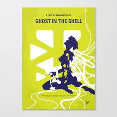 No366 My Ghost in the Shell minimal movie poster Canvas Print