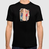 Bojack and Todd Mens Fitted Tee Black SMALL