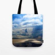 Dawn On The Beach Tote Bag