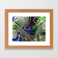 Feathering Heights Framed Art Print