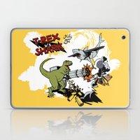T-Rex VS Shark  Laptop & iPad Skin