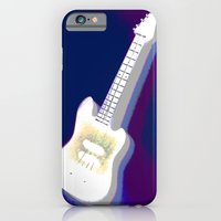 guitar iPhone & iPod Cases featuring Guitar by Vitta