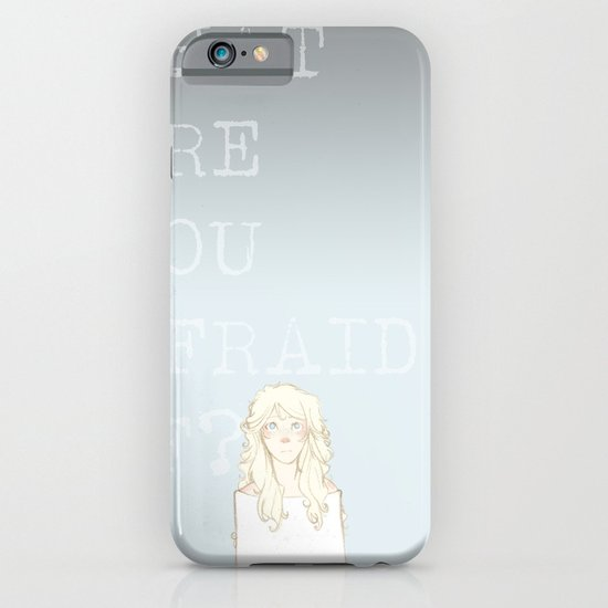 What are you afraid of? (version 2) iPhone & iPod Case