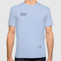 BEAUTIFUL THINGS Mens Fitted Tee Athletic Blue SMALL