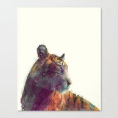 Tiger // Solace Canvas Print