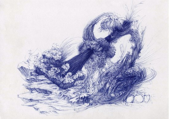Wave Whip Art Print