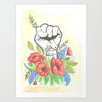 Thanks A Bunch Art Print