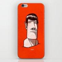Spock / Rock iPhone & iPod Skin
