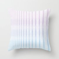 Circle Gradient Throw Pillow