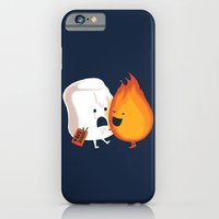 iPhone Cases featuring Friendly Fire by Budi Kwan
