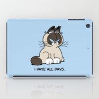 Always Grumpy iPad Case