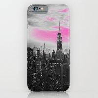 iPhone & iPod Case featuring PINK New York by Lucrezia Semenzato