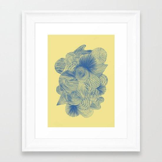 Ocean Breeze Framed Art Print