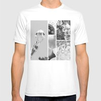 ** Mens Fitted Tee White SMALL