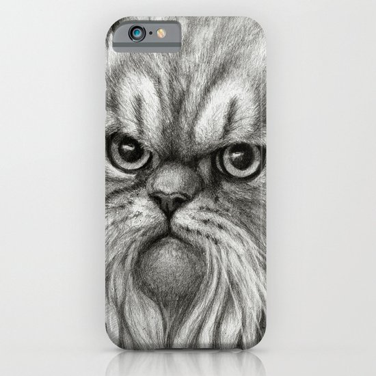 Persian Cat SK072 iPhone & iPod Case