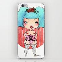 Chubby Heart iPhone & iPod Skin