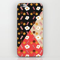 Bacon, Egg & Muffin!! iPhone & iPod Skin