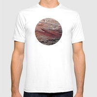 Planetary Bodies - Bark Mens Fitted Tee White SMALL