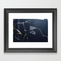 No Cycle Framed Art Print