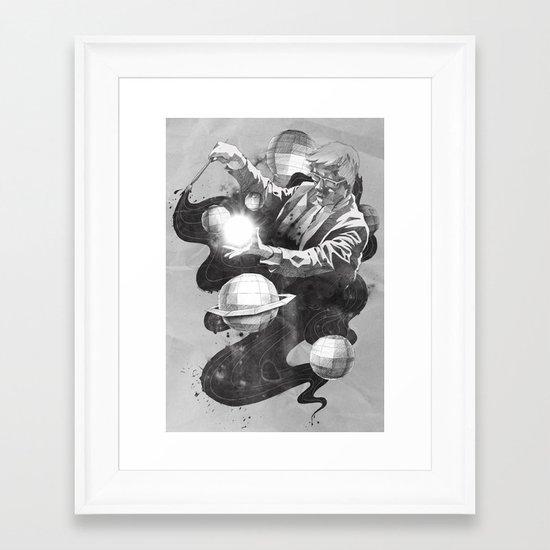 Space Symphony Framed Art Print