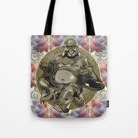 Laughing Buddha Tote Bag