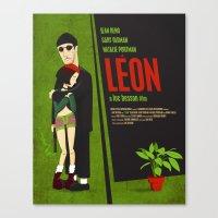 Leon and Mathilda Canvas Print