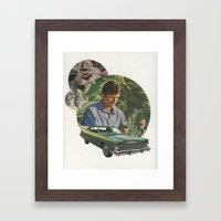 Men's Series 2 Framed Art Print
