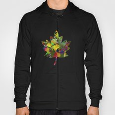 Abstract Leaf Carpet Hoody