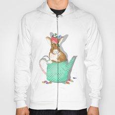 bunny in the teapot Hoody