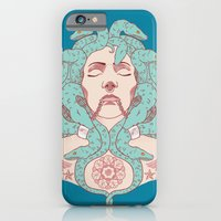 iPhone & iPod Case featuring Tattooed Medusa by Yvonne Valenza