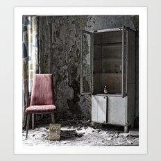 lost chair Art Print